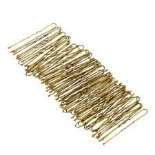300Pcs Golden Bobby Pins Thin U Shape Hairpins Women Hair Clips G9T9
