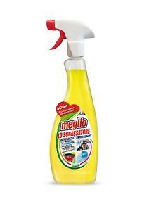 MEGLIO lemon All Purpose Degreaser Spray - Metals Fabrics Plastic Glass