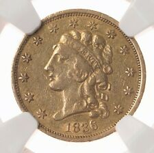 1836 Classic Head $2.50 NGC Certified XF40 Block 8