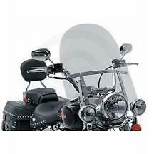 "MEMPHIS FATS 17"" HARLEY SPORTSTER WINDSHIELD & MOUNT KIT 883 1200 1973 THRU 2011"
