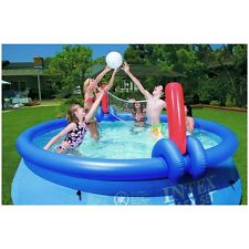 Inflatable Volleyball and Basketball Toy Game for 15' - 18' Intex Easy Set Pools