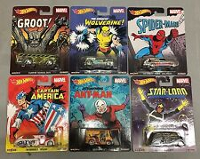 2015 Marvel * 6 Car Set * Hot Wheels Pop Culture Groot, Ant-Man * C22