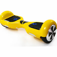 CHIC Monopattino Skateboard Elettrico Scooter Smart Balance Hoverboard Giallo