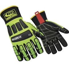 Ringers 297 08 Hi Viz Gloves Impact Resistant Oil Field Size Small 8 Roughneck
