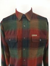 CLEARWATER OUTFITTERS Front Pockets Colored Squares Woven Shirt Mens Size Medium