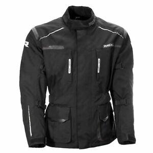 Richa Axel Motorcycle Motorbike Textile Touring Thermal Jacket - Black/Grey