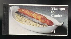 1969 ZP1 STAMPS FOR COOKS BOOKLET COMPLETE HIGH CV STAPLED VERSION