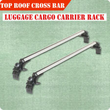 "48"" Universal SUV Roof Top Cross Bar Rail Luggage Cargo Carrier Rail Aluminum"