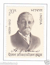PHILA584 INDIA 1973 SINGLE MINT STAMP OF ALLAN OCTAVIAN HUME MNH