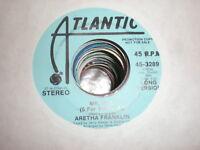 Aretha Franklin 45 Mr DJ ATLANTIC PROMO