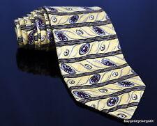 ROBERT TALBOTT BEST OF CLASS mens yellow neck tie Italian silk made in USA