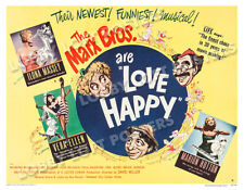 LOVE HAPPY LOBBY CARD POSTER HS-B 1949 MARX BROTHERS MARILYN MONROE RAYMOND BURR