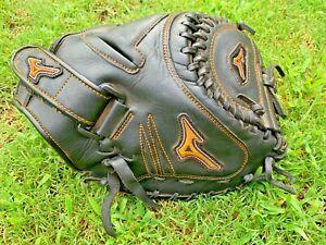 "Mizuno MVP PRIME GXS 34"" Women's Fast-pitch leather Softball Catchers Mitt NICE"
