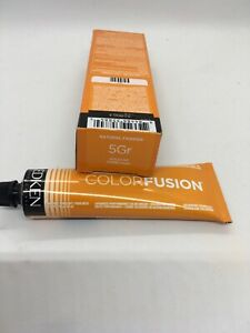 Redken Color Fusion Tube 2.1 Oz Color Creme 5Gr Gold Red New In Box