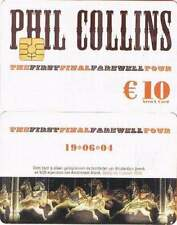 Arenakaart A060-01 10 euro: Phil Collins