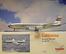Herpa Wings 1:200  Boeing 707-400  Lufthansa D-ABOB  557818-001 Modellairport500