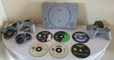 Sony Playstation 1 Console - Grey (SCPH-5502) with controller/games Working PS1
