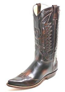 417 Westernstiefel Cowboystiefel Line Dance Catalan Style Texas Boots Buffalo 38