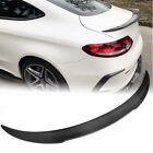 Carbon Rear Trunk Spoiler Wing For Mercedes-benz W205 C205 C63 C43 Amg Coupe