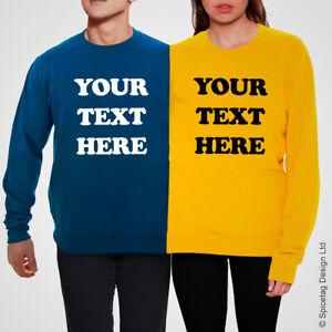 Custom Double Jumper Twosie Sweatshirt Couple Sweater Top Unisex Two 2 Person