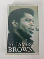 16 JAMES BROWN Audio Cassette (1991 GOLDEN CIRCLE)