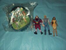 1995 Burger King Disney Pocahontas, Gov Ratcliffe, John Smith  lot   Pre - owned