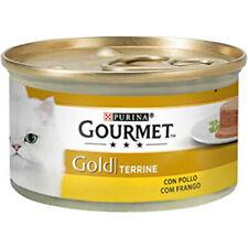 PATES PARA GATOS PURINA® GOURMET® Gold Mousse con Pollo 85g PATE SNACK DE GATO