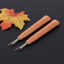 2PCS Seam Ripper Stitch Picker Unpicker Thread Cutter Sewing Tool With Cap