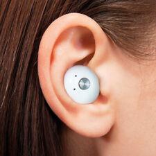 True Wireless In-ear Headphones (White) - Splash Proof | Charging Case Included!