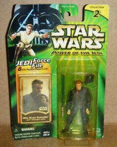 New MIP Star Wars Power of the Jedi Figure - Obi-Wan Kenobi Jedi Training Gear