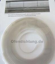 Ceranfeld montieren Induktions Glaskeramik Herd abdichten Kochstelle 6x1,5mm gr