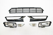2012 - 15 VW passat lower grille fog light reflector  set  7 pc new