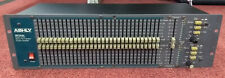 Used Ashly Audio GQX-3102 Dual 31-Band Graphic Equalizer