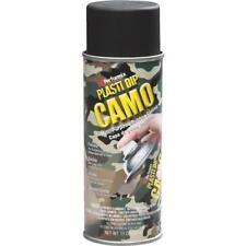 6 Pk 11 Oz Performix Plasti Dip Black Camo Rubber Coating Spray Paint 11214-6