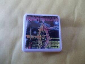 IRON MAIDEN  ALBUM COVER    BADGE PIN