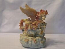 Vintage Carousel 2 Unicorn Sound Of Music Box Motion Claud