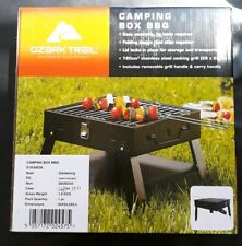 Ozark Trail Portable Camping Box BBQ 28cm Cooking Grill Folding barbecue New