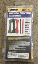 308 Pc Terminal Connector Cable Tie Clamp Heat Shrink Set Electrical Assortment