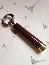 Holland & Holland shotgun shell walnut Wood Bottle Opener Clay And Game Shooting