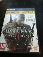 The Witcher 3 III Wild Hunt Game of the Year GOTY [PC Computer RPG Bandai Namco]
