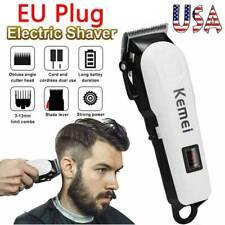 Pro Men's Electric Hair Clipper Cordless Razor Hair Cutting Barber Shaver