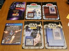 Limited Run Star Wars Games Complete Set Of 6 Games PS4 NES SNES New & Sealed