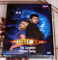 DOCTOR WHO BBC THE COMPLETE SECOND SERIES 6-DISC SET BRAND NEW