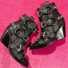 Jeffrey Campbell Walton Studded Leather Boots - UK 8, EU 41