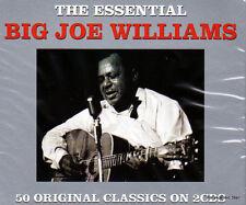 BIG JOE WILLIAMS - THE ESSENTIAL - 50 ORIGINAL CLASSICS (NEW SEALED 2CD)