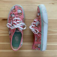 VANS Toy Story Pink Sneakers Shoes Size 2.5 Youth