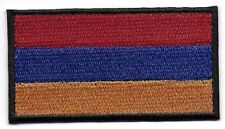 Embroidered ARMENIA Flag Iron on Sew on Patch Badge HIGH QUALITY APPLIQUE