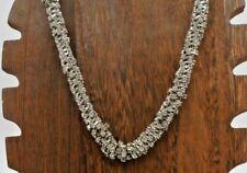 "NOC New York Company Citybright Collection Twist Rhinestone Crystal 19"" Necklace"