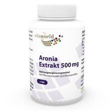 Aronia bacca estratto 500mg + zinco & selenio 120 Capsule Vita World farmacia