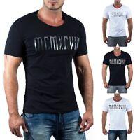 Redbridge Herren T-Shirt Kurzarm Freizeit 3D Print Streetwear by Cipo Baxx